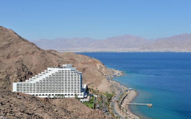 Un hôtel à Eilat, le 1er juin 2014. Illustration. (Crédit : Yossi Zeliger/Flash90)