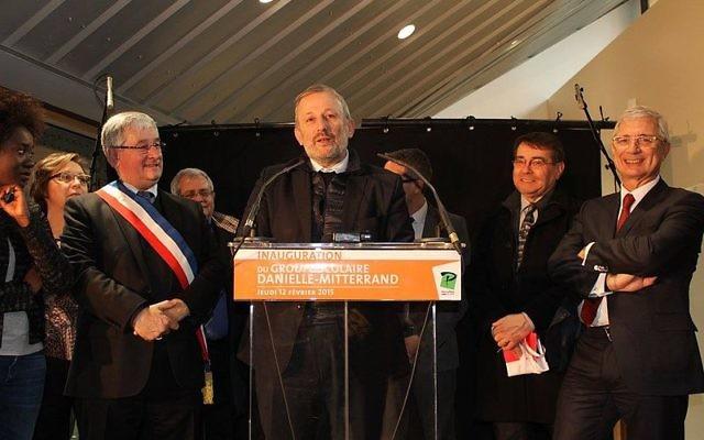 François Pupponi à Pierrefitte-sur-Seine le 12 février 2015 (Crédit : Chris93/CC SA 4.0)