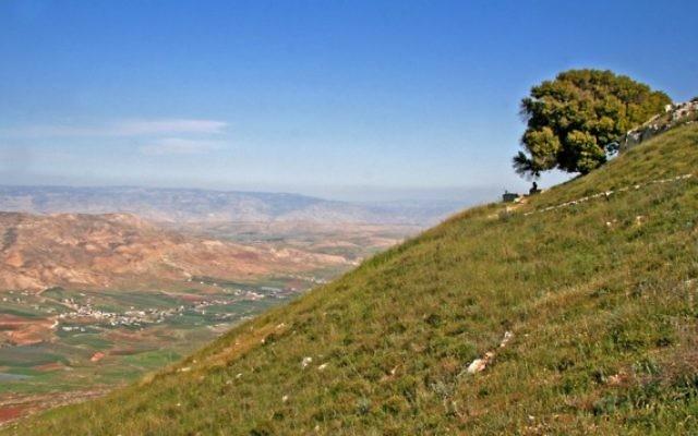 Le mont Kabir et la vallée de Tirza dans le nord de la Cisjordanie (Photo: Tamar Hayardeni / Wikimedia Commons)