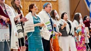 Des rabbins reconstructionnistes en 2013. Illustration. (Crédit : CRR/Communautés juives reconstructionnistes via JTA)