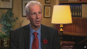 Le nouveau ministre des Affaires étrangères du Canada, Stéphane Dion (Crédit : Capture d'écran YouTube)