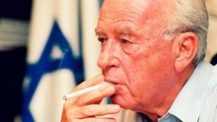Yitzhak Rabin (Crédit : Flash90)