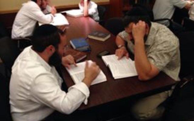 Des étudiants au centre Chabad de Boca Raton en Floride (Facebook)