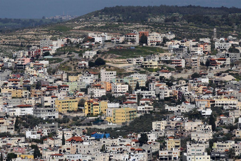 Vue de Kafr Kanna, dans la région de Galilée d'Israël, le 28 mars 2011 (Crédit : Nati Shohat / Flash90)