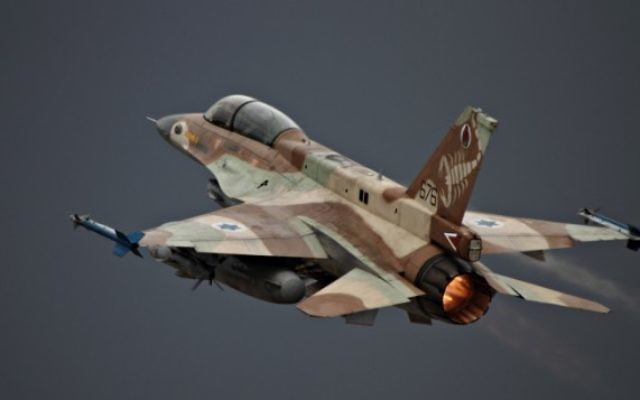 F-16D de l'armée de l'air israélienne , le 28 juin 2010. Ilustration. (Crédit : Ofer Sidon/Flash90)