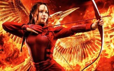 Affiche du film Hunger Games (Crédit : via JTA)