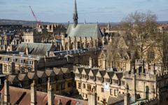 L'université d'Oxford. Illustration. (Crédit : Shutterstock)