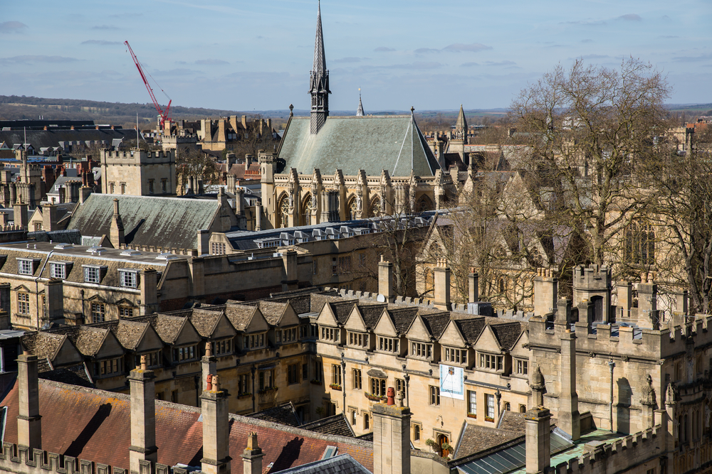L'université d'Oxford. Illustration. (Crédit : Shutterstock)