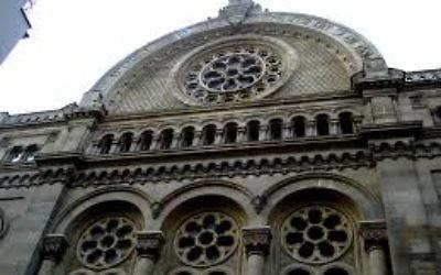 Grande Synagogue de la victoire (Crédit : Wikipédia)