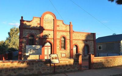 La synagogue de Broken Hill (Crédit : Wikipedia commons)