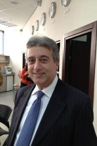 Le Rabbi Dr. Elie Abadie, co-président de la Justice pour les Juifs des pays arabes (Crédit : Elhanan Miller / Times of Israel)