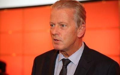 Le vice-chancelier autrichien Reinhold Mitterlehner (Crédit : CC BY-SA, Franz Johann Morgenbesser, via Wikimedia Commons)