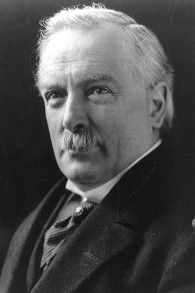 David Lloyd George (Crédit : Library of Congress, Wikimedia Commons)