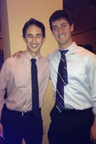 Eric Harris et Jeff Pawlak, co-fondateurs d'Israel framed. (Crédit : autorisation)