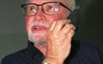 Marcus Klingberg en 1998 (Crédit : archives AFP/ALBERTO BENKBERG)