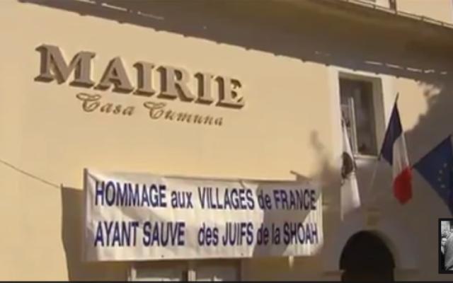 Extrait d'une émission consacrée à la Corse et aux Juifs durant la Seconde guerre mondiale. (Capture d'écran Daily Motion/ La Corse, île des Justes ?)