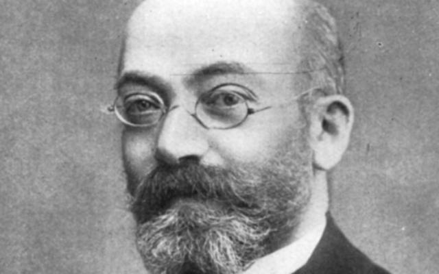 Louis-Lazare Zamenhof (Crédit : : wikimedia commons)