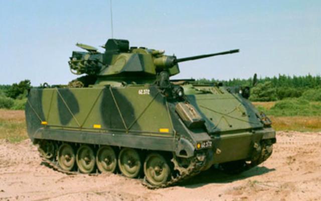 Illustration d'un M113A2 (Crédit : domaine public/Wikimedia commons)