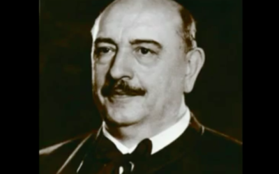 Balint Homan, ministre hongrois de la Religion et de l'Education  pendant la seconde guerre mondiale (Capture d'écran YouTube)