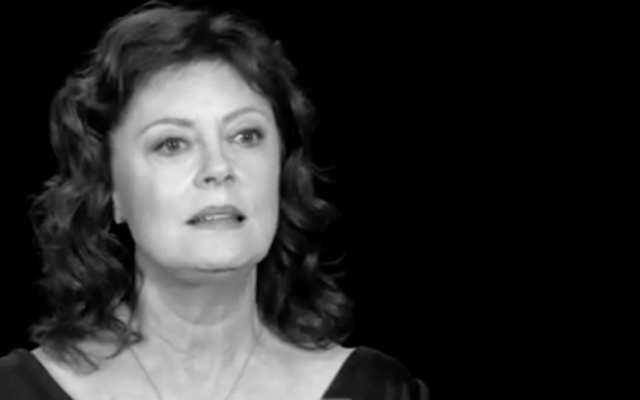 Susan Sarandon (Crédit : Capture d'écran YouTube)