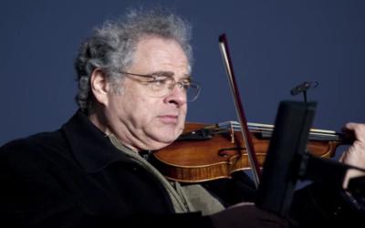 Le violoniste Itzhak Perlman (Crédit : capture d'écran YouTube)