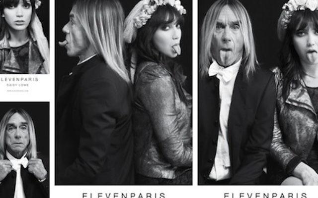 Publicité pour Eleven Paris (Crédit : courtoisie)