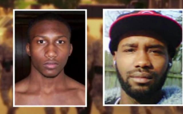 Hasan Edmonds (à gauche) et son cousin Jonas qui ont souhaité mené une attaque terroriste (Crédit : Capture d'écran YouTube)