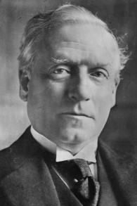 L'ancien Premier ministre britannique Herbert Henry Asquith (Crédit : Domaine public)