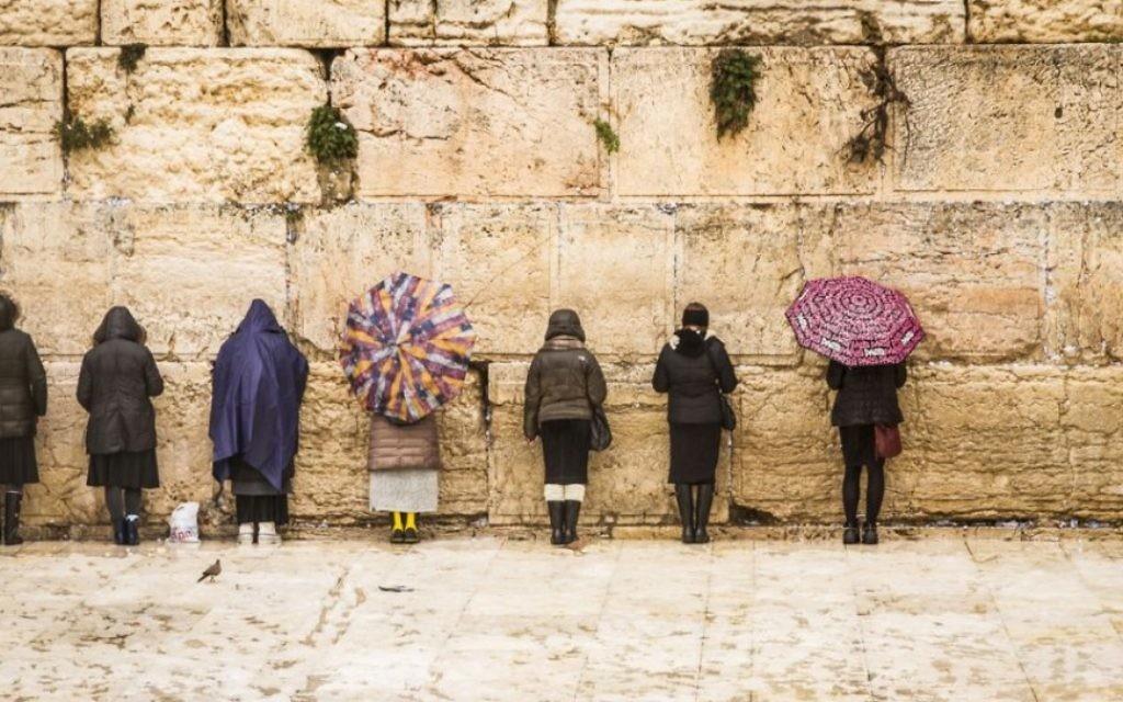 Le mur Occidental à Jérusalem, l'un des nombreux tirages vendus par Israël Framed (Crédit : autorisation)