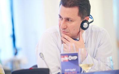 Le Premier ministre de la Macédoire Nikola Gruevski (Crédit : European People's Party/Wikimedia Commons SA 2.0)