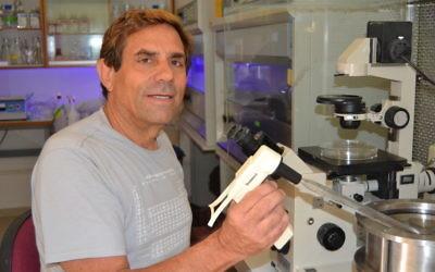 Le professeur Eduardo Mitrani (Crédit : Autorisation)