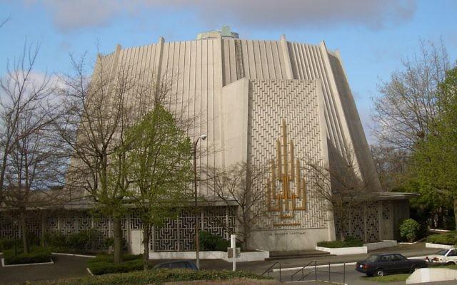 Une synagogue de l'état de Washington, Etats-Unis (Crédit : Vmenkov / CC BY-SA 3.0 via Commons)