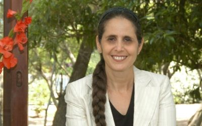 L'experte en terrorisme et députée du Likud Anat Berko (Crédit : Noah Melamed)