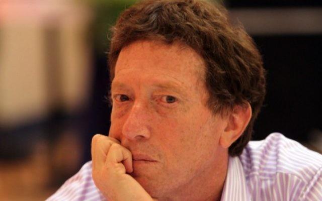 Le professeur d'économie Avi Simchon le 16 juin  2010 (Crédit photo: Flash90)