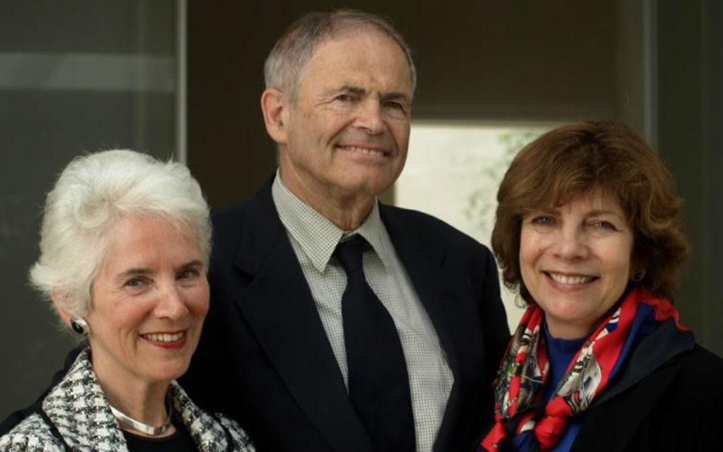 """Les trois """"bébés"""" du livre de Wendy Holden, """"Nés survivants"""" - Eva Clarke, Mark Olsky et Hana Berger Moran. (Crédit : courtoisie)"""