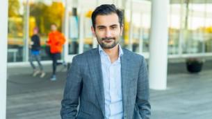 Le politicien suédois Hanif Bali (Crédit : Fredrik Wennerlund)