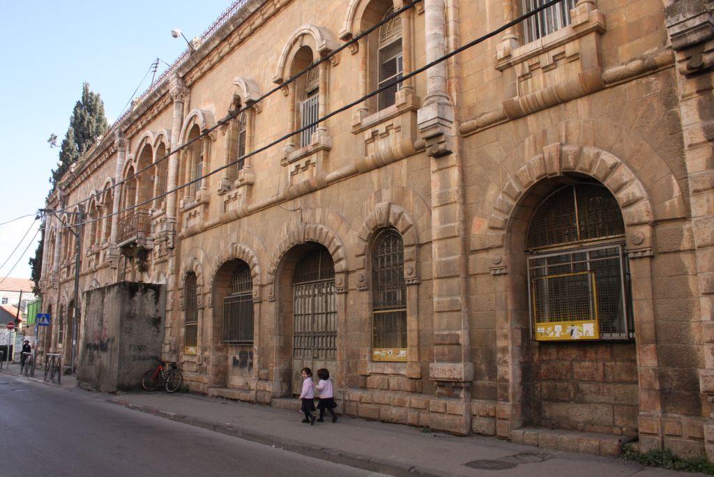 La maison Yehudayoff dans le quartier de Bukharim de Jérusalem (Crédit : Shmuel Bar-Am)