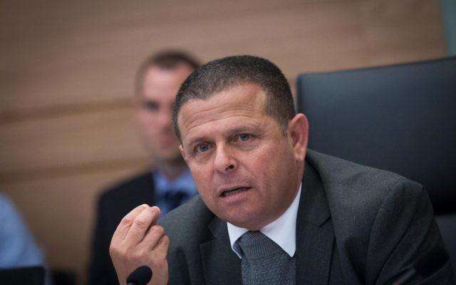 Le député Eitan Cabel (Union Sioniste) à la Knesset, juin 2017 (Yonatan Sindel / Flash90)