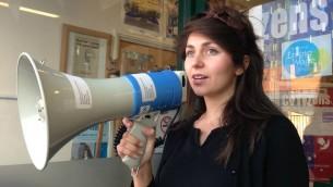 Charlotte Fischer, la coordinatrice de Citizens UK pour les communautés juives britanniques  (Autorisation)