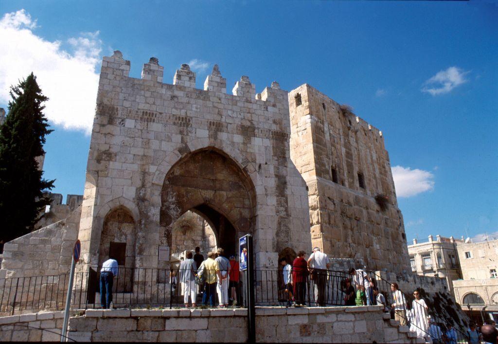 La citadelle de Jérusalem (Crédit : Shmuel Bar-Am)