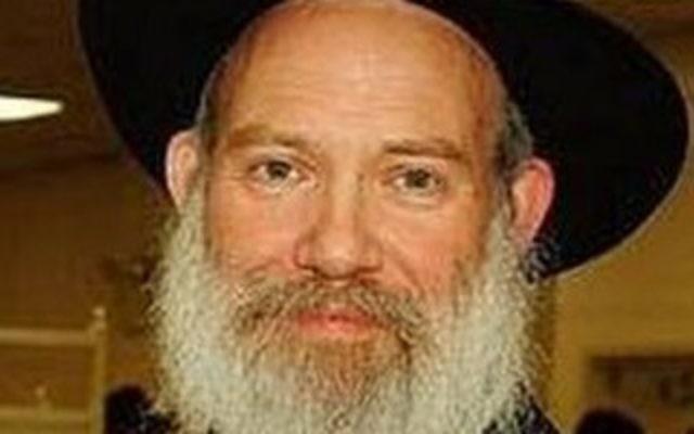 Le rabbin Joseph Raksin (Autorisation: Chabad)