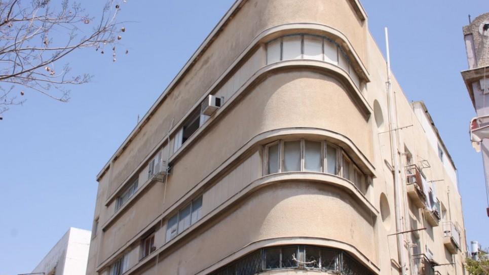 Le bâtiment Polishuk, Nahalat Binyamin. Une monstruosité ? (Crédit : Shmuel Bar-Am)