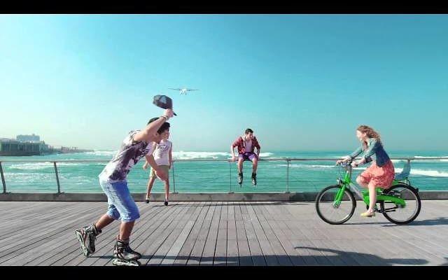 Campagne du ministère israelien du Tourisme destinée au public russe (Capture d'écran: YouTube)
