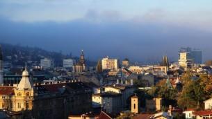 Une vue de Sarajevo, la capitale de la Bosnie-Herzégovine (Autorisation: Almas Bavcic)