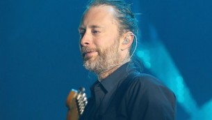 Thom Yorke à Sydney, 12 novembre 2012. (Crédit : Mark Metcalfe/Getty Images/JTA)