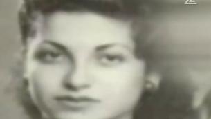 Rachel Elkayam jeune (Capture d'écran Deuxième chaîne)