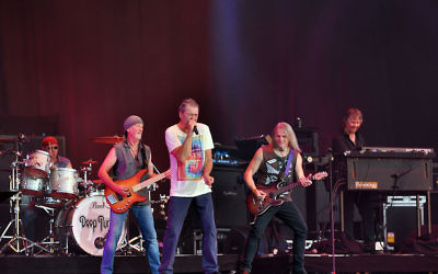 Deep Purple au Wacken Open Air en 2013 (Crédit : Jonas Rogowski/ Creative Commons Attribution-Share Alike 3.0 Unported)