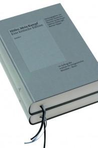 L'Institut basé à Munich d'Histoire contemporaine qui a re-publié « Mein Kampf » le 8 janvier 2015, une édition massivement annotée en deux volumes (Crédit : Autorisation)