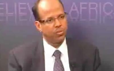 Mahamoud Ali Youssouf (Crédit : Capture d'écran YouTube)