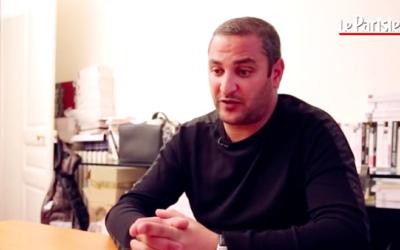 Yohann Dorai, l'un des otages de l'Hyper Cacher, se confie au Parisien (Crédit : Capture d'écran DailyMotion/Parisien)